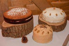 Candy Stripe Cake Box - Wedding Cakes
