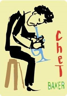 Billedresultat for chet baker Jazz Artists, Jazz Musicians, Saul Bass, Jazz Blues, Blues Music, Naive, Trumpet Tattoo, Jazz Cat, Chet Baker