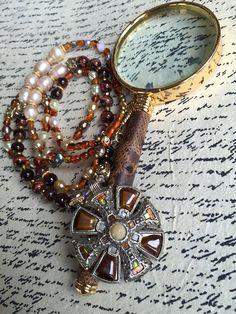 Romantic Vintage Jacobite Scottish Necklace