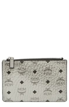 MCM 'Visetos' Zip Key Chain Pouch available at #Nordstrom