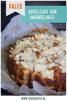 Deze appelcake van amandelmeel is glutenvrij en lactosevrij. Overheerlijk voor elk moment van de dag!
