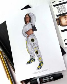 Fashion Model Sketch, Fashion Design Sketches, Fashion Models, Fashion Outfits, Moda Aesthetic, Fashion Figure Drawing, Fashion Illustration Dresses, Fashion Figures, Mode Style