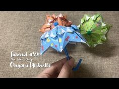 How to DIY Origami Umbrella? | The Idea King Tutorial #59 - YouTube