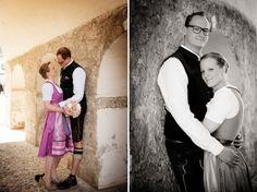 Dirndlhochzeit Trachtenhochzeit Heiraten im Dirndl