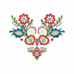 "Výšivka ""Vajnory"" 20x18 cm   slovenský folklór Hungarian Tattoo, Hungarian Embroidery, Folk Embroidery, Flower Embroidery Designs, Flower Designs, Foto Transfer, Goddess Art, Moon Goddess, Scandinavian Folk Art"