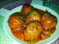 Un clásico que nos encanta: albóndigas de pavo con salsa de tomate