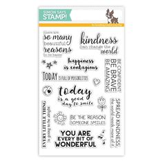 RESERVE Simon Says Clear Stamps UPLIFTING THOUGHTS SSS101623 Among The Stars  Preview Image