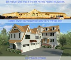Bet you can't wait to be at the new Penfield Pavilion this summer.   #NewHome #CustomHome #BeachHouse #CommuterHome