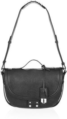e0710d609bc2 Clerkenwell Leather Shoulder Bag - Lyst by ALEXANDER MQUEEN Top Designer  Brands