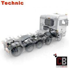 Custom RC Skania 10x4 6 SLT Truck Lego Factory, Truck Detailing, Shop Lego, Lego Technic, Modern Warfare, Custom Items, Brick, Engineering, Coding