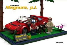 LEGO Ideas - Magnum P.I. Including a Ferrari 308 GTS