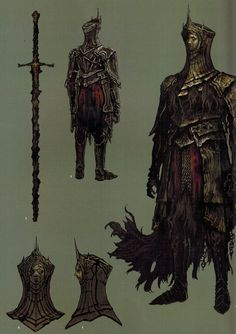 Post with 6040 votes and 118047 views. Shared by PsychicFlamingo. Big album full of knights Dark Souls 2, Arte Dark Souls, Demon's Souls, Fantasy Armor, Medieval Fantasy, High Fantasy, Dark Fantasy Art, Fantasy Character Design, Character Art