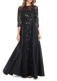 b62372d657946 Adrianna Papell Lace and Sequin Ballgown. Adrianna PapellFormal WearEvening  ...