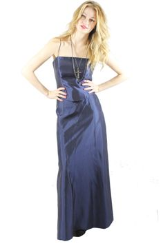 Iridescent Blue Gown from Nikita & Vesper. The perfect bridesmaid dress. Check it out here: http://nikitaandvesper.com/collections/dresses-1/products/iridescent-blue-gown