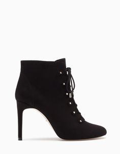 Ankle boots with narrow heels