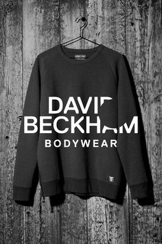 Cozy black sweatshirt, Bodywear Selected By Beckham collection. | H&M For Men