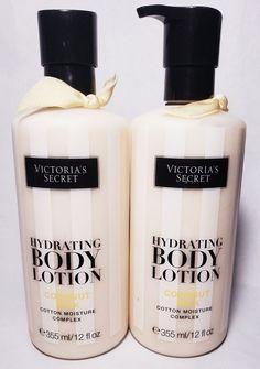ae8261cec8 2 Victoria s Secret Hydration Body Lotion Coconut Milk Cotton Moisture  Complex  VictoriasSecret