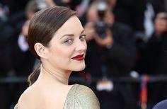 Le maquillage de Marion Cotillard sur le tapis rouge de Cannes 2016