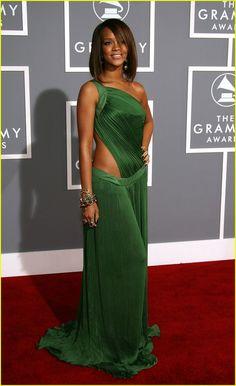 Rihanna Grammy Dress (throwback)