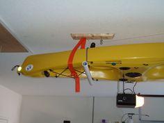 """Overhead Kayak """"Hoist & Store"""". - Kayakfishingstuff.com Community Forums"""