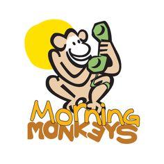 Logo design Client: Morning Monkeys Software: Adobe Illustrator
