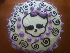 Monster High birthday cake.