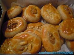 Spanish Desserts, Spanish Cuisine, Christmas Bread, Easy Eat, Coconut Cookies, Marzipan, Sweets Recipes, Churros, Bakery