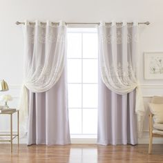 Boreas Well Sheer Agatha & Blackout Panel Pair