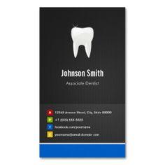 Associate Dentist - Dental Creative Innovative Business Card Template