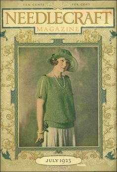 Needlecraft Magazine July 1923