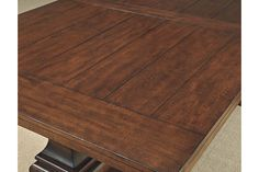 Burnished Brown Gaylon Table and Base View 2
