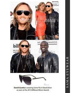 85fec8c607e David Guetta is wearing Sama Eyewear