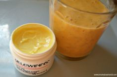 Tropical smoothie - for your face. Oh yes. #DerLeWinns Oil Free Day & Night moisturiser