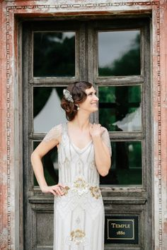 oh my word. this wedding dress is amazing! >> Ditto via Ruffled. this whole wedding is gorgeous: )