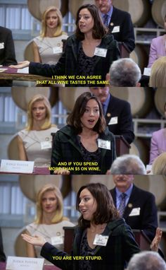 "On developing a more refined adult palate: | 28 Times April Ludgate Made You Say ""Me As An Adult"""