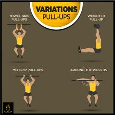 Amp Up your Pull-Ups with the help of these variations. #Variations #Sumaya #Fitness