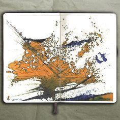 rougart drawing: EXPLOSION_Drawing, 2015_Mariasun Salgado