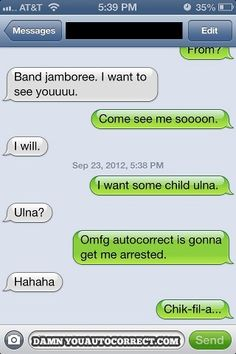 auto correct fail - | - Auto Correct Text Fails