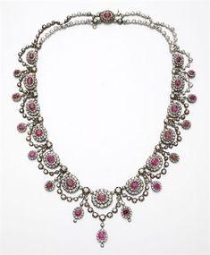 Necklace 1880s Christie's