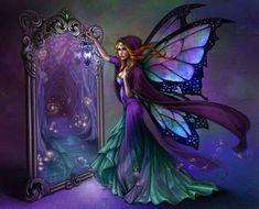 Fairy & mirror