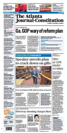The Atlanta Journal-Constitution: Jan. 30, 2013