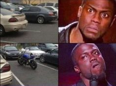 Especially on campus where there are MOTORCYCLE PARKING SPOTS RIGHT BY THE DOOR AND THEY'RE OPEN, UNLIKE THE STANDARD SPOTS! Oh, the joys of being faculty and still being late to class because of the parking. Bah.
