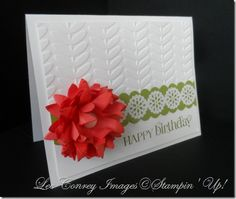 Love all the new Stampin' Up! Goodies. More details on my blog at:  www.stampingleeyours.blogspot.com