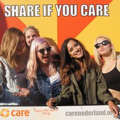 One of the GIFs created automatically by the Share If You Care GIF Generator; an interactive installation I designed and built for CARE Nederland