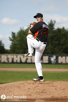 Baseball senior pictures ideas - Northville, MI
