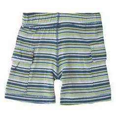 Stripe cargo shorts