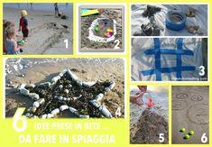 6 idee prese in rete...da fare in spiaggia