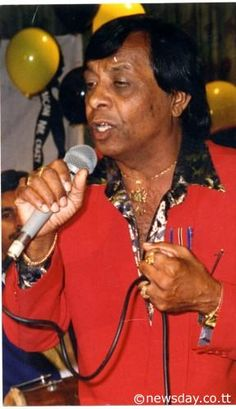 """Sundar Popo born Sunilal Popo Bahora at age of 15 began singing bhajans at temples and weddings in his hometown of Monkey Town. (November 4, 1943 - May 2, 2000). He popularized chutney music, beginning with his 1969 hit """"Nana and Nani"""" In total, he recorded more than 15 albums. He is best known for his song """"Scorpion"""" which spoke about love, death, and happiness. Popo also recorded hundreds of songs during his career which spanned three decades."""