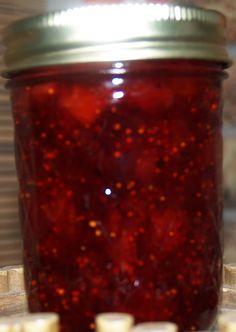 Strawberry, Balsamic Vinegar & Black Pepper Jam