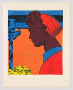 aubreylstallard: Hugo Gellert, Free Man's Duties (#1), 1943